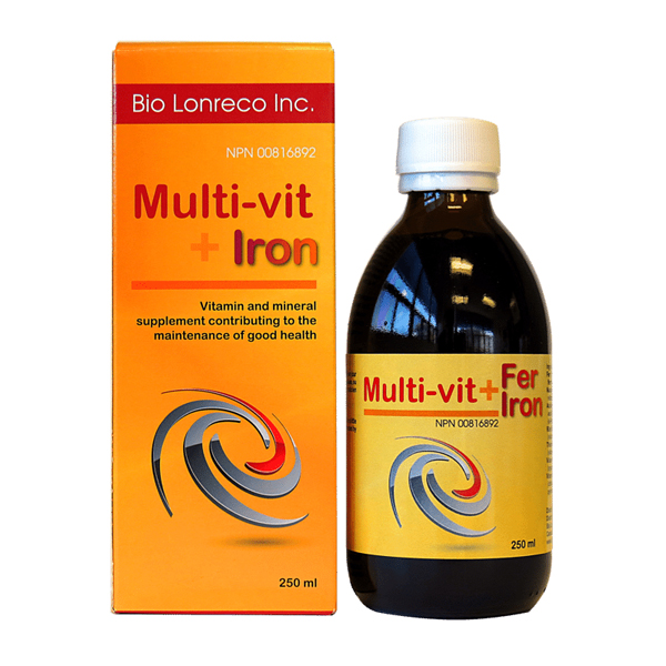 multi vit plus iron 250