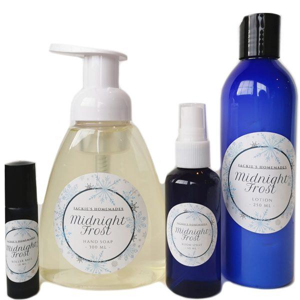 midnight frost lotion bundle soap roller ball boyds alternative health