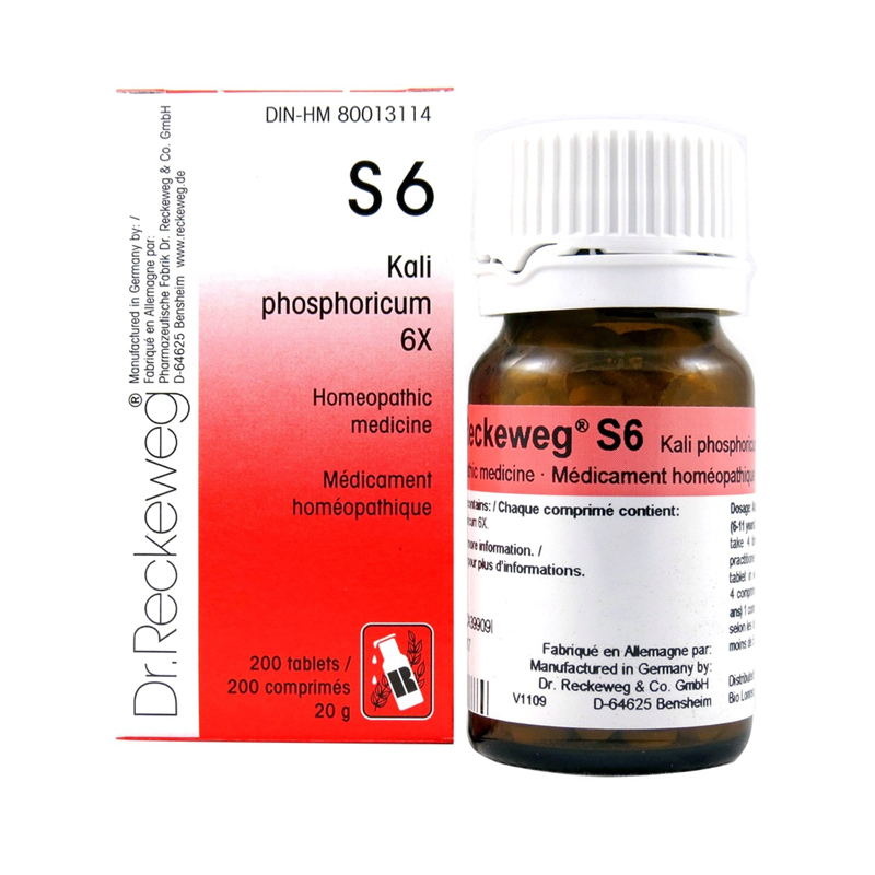 s6 kali phosphoricum 6x dr reckeweg boyds alternative health