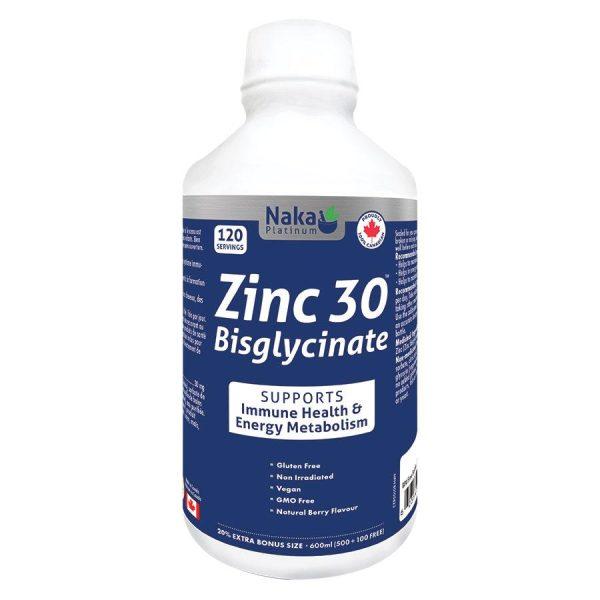 zinc 30 biglycinate boyds alternative health