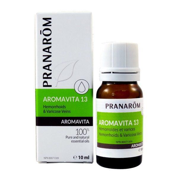aromavita 13 hemorrhoids and varicose veins 10ml boyds alternative health